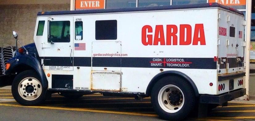 Garda truck